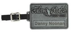 custom golf bag tags