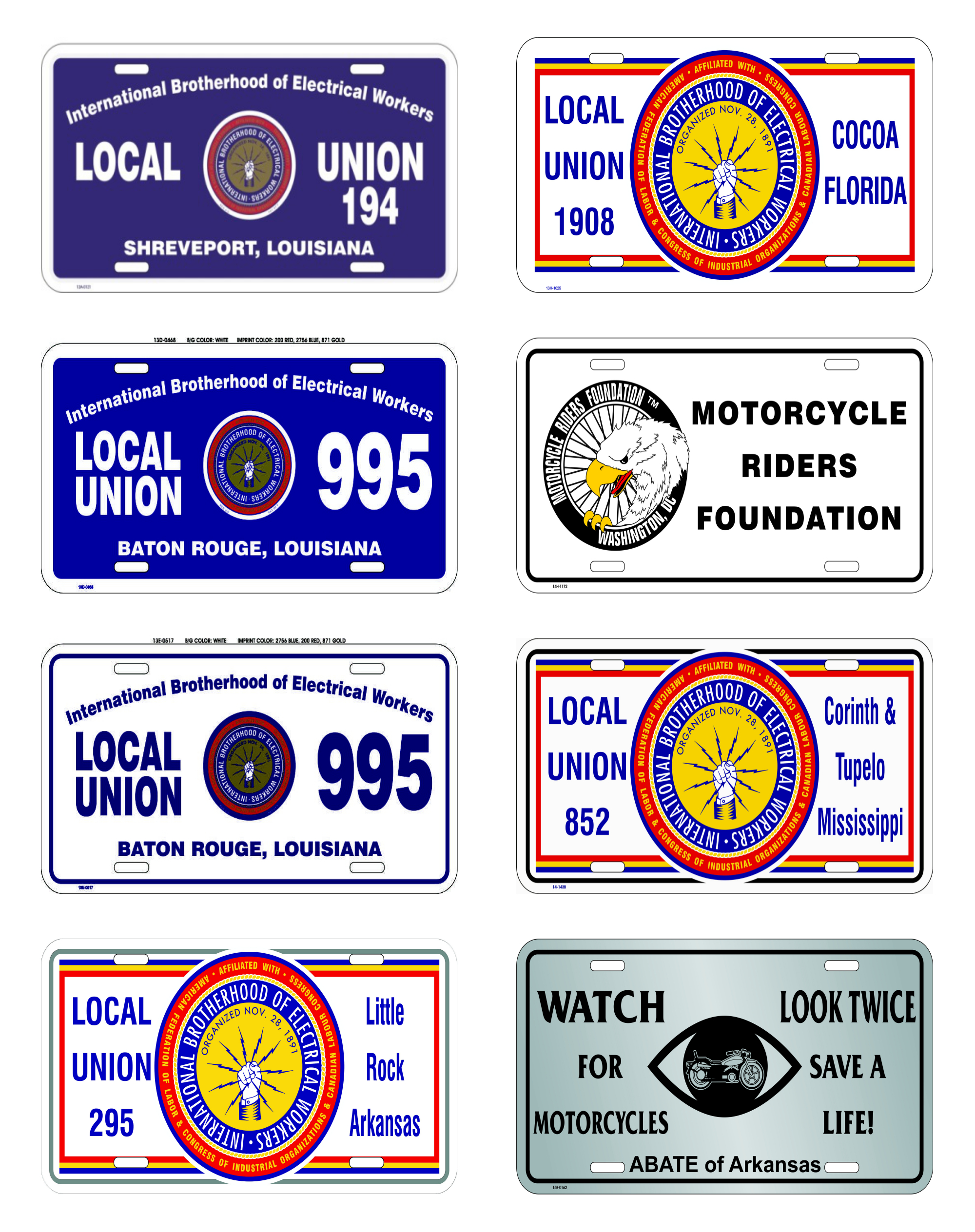 License Plates & Frames | USA Promotions